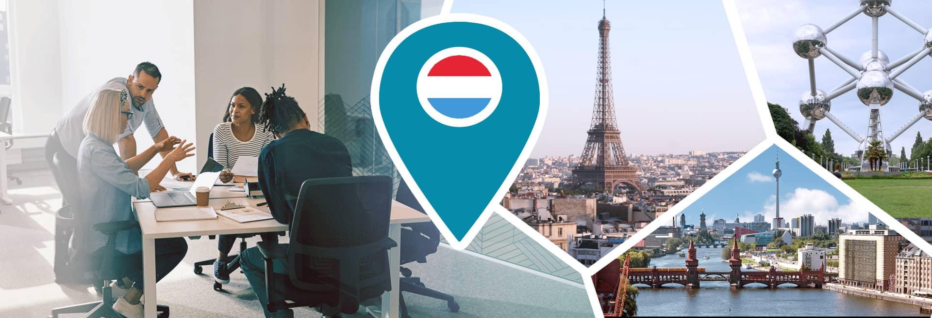 Bannière clients établies au Luxembourg et Europe